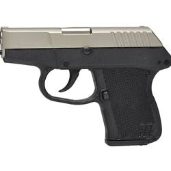 Keltec P3ATNBBLK P3AT 380acp nickel