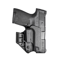 MFT - Mission First Tactical H2SWSHAIWBM-BL SMITH & WESSON M&P SHIELD PLUS , SHIELD 1.0, 2.0 - AMBIDEXTROUS APPENDIX IWB HOLSTER